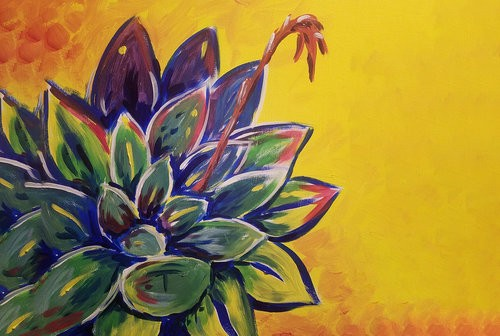 Succulent Love Painting Workshop