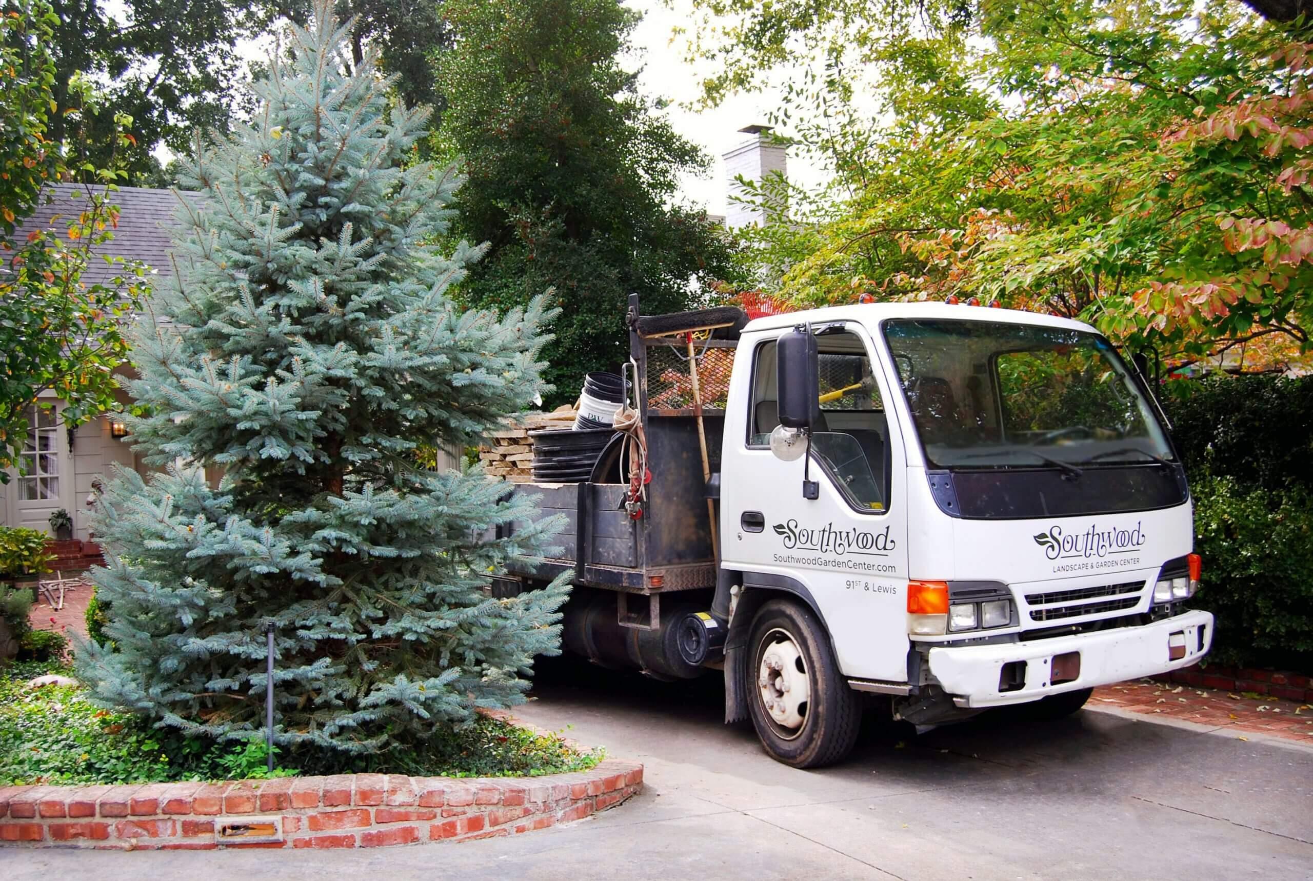 Landscape Service Truck